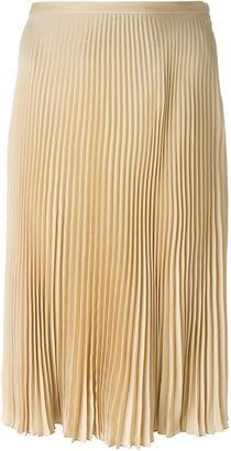 Ralph Lauren pleated skirt $1,403 thestylecure.com