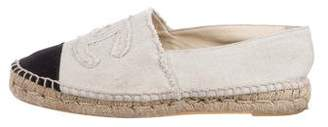 Chanel Canvas CC Espadrilles