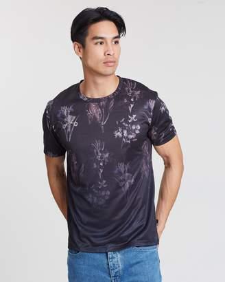 Floral Placement T-Shirt
