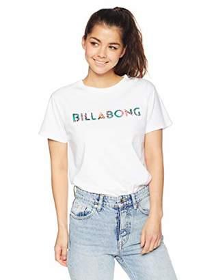 Billabong (ビラボン) - [ビラボン] [レディース] 半袖 プリント Tシャツ (テイラードFIT)[ AJ013-212 / SS LOGO TEE ] おしゃれ ロゴ CBY_マルチカラー US L (日本サイズL相当)