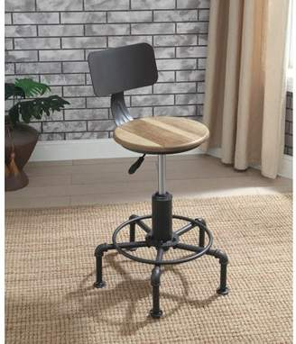 Furniture of America Laverty Industrial Bar Stools, set of 2