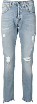 PRPS distressed skinny jeans