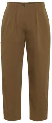 Valentino Stretch cotton twill pants