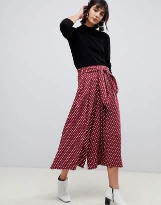 Asos Design DESIGN culottes in spot