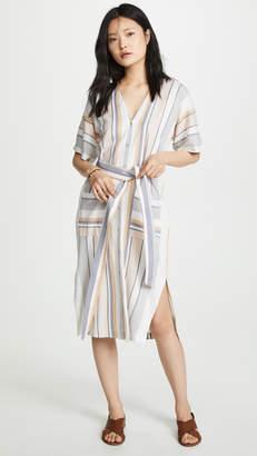 Three Dots Portofino Stripe Dress