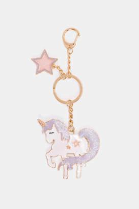 Ardene Unicorn Keychain