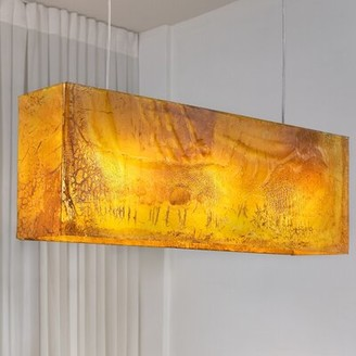 Light In Art by Shimal'e Peleg Galaxy 3-Light Kitchen Island Pendant Light In Art by Shimal'e Peleg
