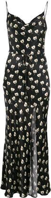 Bec & Bridge belted floral-print maxi dress