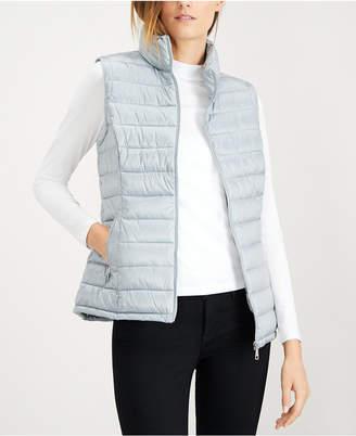 Calvin Klein Quilted Metallic Puffer Vest