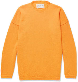 Our Legacy Mohair-Blend Sweater