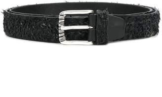 Italian Belts distressed finish belt