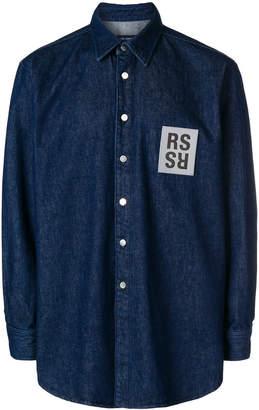 Raf Simons RS denim shirt