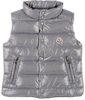 Moncler Men's Down-Quilted Tib Vest-GREY $285 thestylecure.com