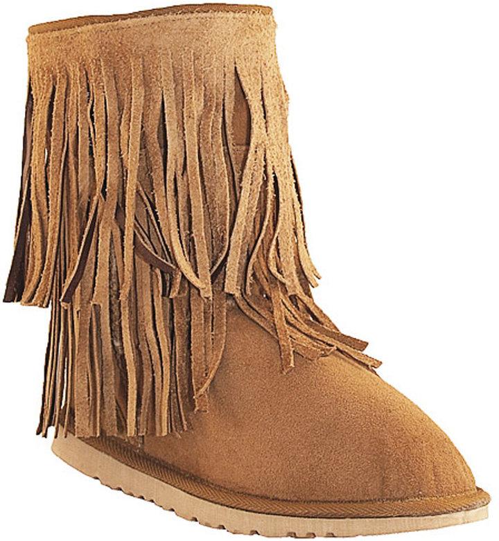 Koolaburra Double Fringe Short Boot