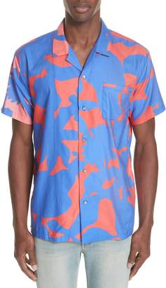 DOUBLE RAINBOUU Sun Children Camp Shirt
