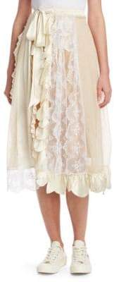 Simone Rocha Pleat Wrap Skirt