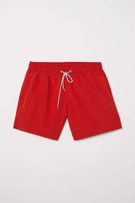 H&M Swim Shorts - Red