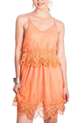 Umgee USA Sleeveless Tulle Dress