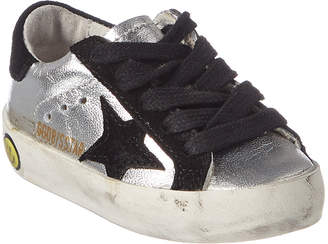 Golden Goose Unisex Leather & Suede Sneaker