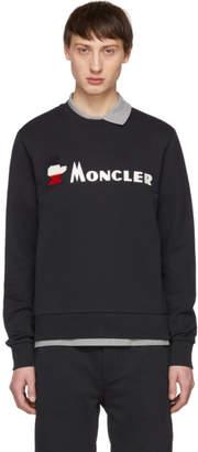 Moncler Navy Maglia Monduck Sweatshirt