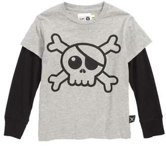 Nununu Skull Patch T-Shirt