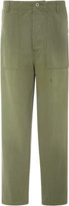 Loewe Cotton-Twill Straight-Leg Pants