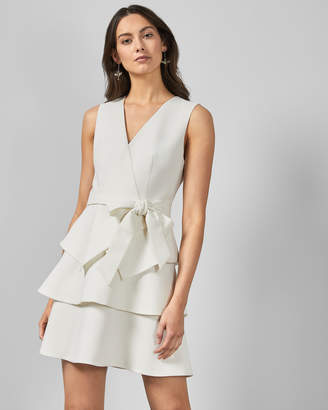 Ted Baker REINAH Tiered embroidered dress