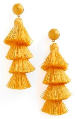 BaubleBar Gabriela Fringe Earrings