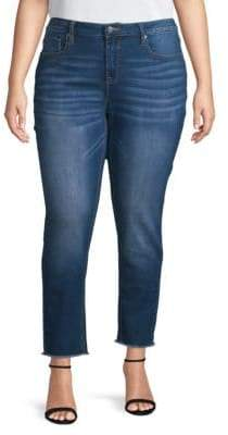 Vigoss Plus Marly Mid-Rise Skinny Jeans