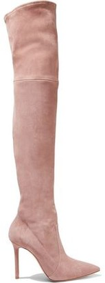Casadei Stretch-suede Over-the-knee Boots