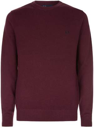 Fred Perry Contrast Knit Sweater
