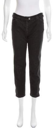 Balenciaga Cropped Mid-Rise Jeans