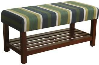 HomePop Striped Bench