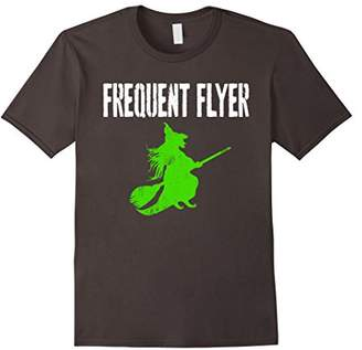 Frequent Flyer Halloween Witch T-Shirt