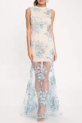 Latiste Frozen Open-Back Dress