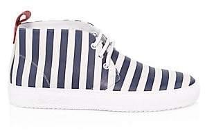 Del Toro Men's Striped Chukka Sneakers