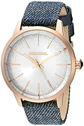 Diesel Women's 'Castilia' Quartz Stainless Steel and Cloth Casual Watch