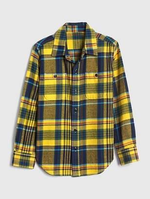 Gap Flannel Long Sleeve Shirt