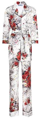 Prada Printed silk pyjama set