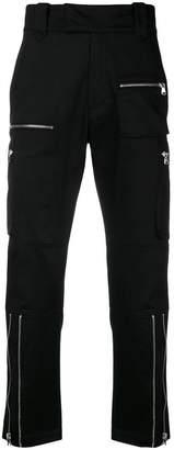 Christian Pellizzari zipped pockets trousers