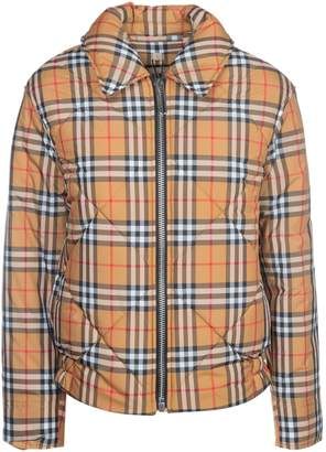 Burberry Checked Bomber