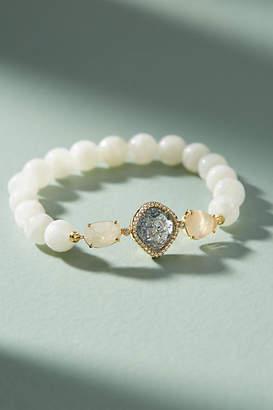 Anthropologie Bronwyn Stone Stretch Bracelet