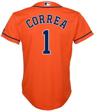 Majestic Carlos Correa Houston Astros Player Replica Cool Base Jersey, Big Boys (8-20)