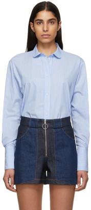 ALEXACHUNG Blue Classic Shirt