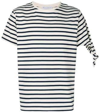 J.W.Anderson striped short-sleeve T-shirt