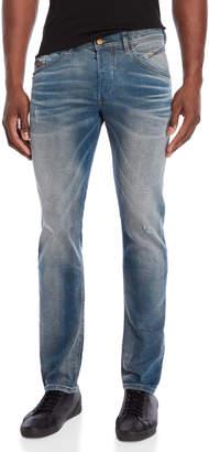 Diesel Denim Indigo Belther Regular Slim-Tapered Jeans