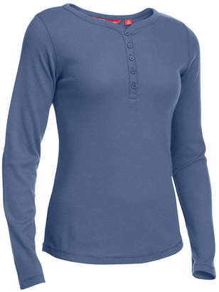 Eastern Mountain Sports Ems Women's Lakeside Thermal Waffle-Knit Henley