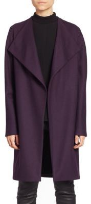 Elie Tahari Dez Open-Front Coat $598 thestylecure.com