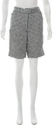 Thom Browne Tweed Knee-Length Shorts