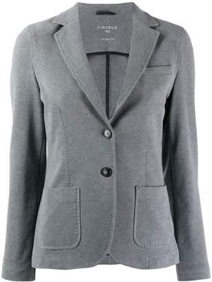 1901 Circolo fitted button blazer